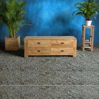 TV-Stand-4-Drawers Indonesian Teak Furniture Preview