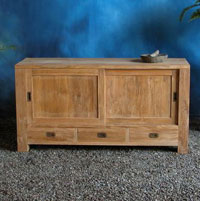 Indonesian Teak Furniture Decky Sideboard Preview Version