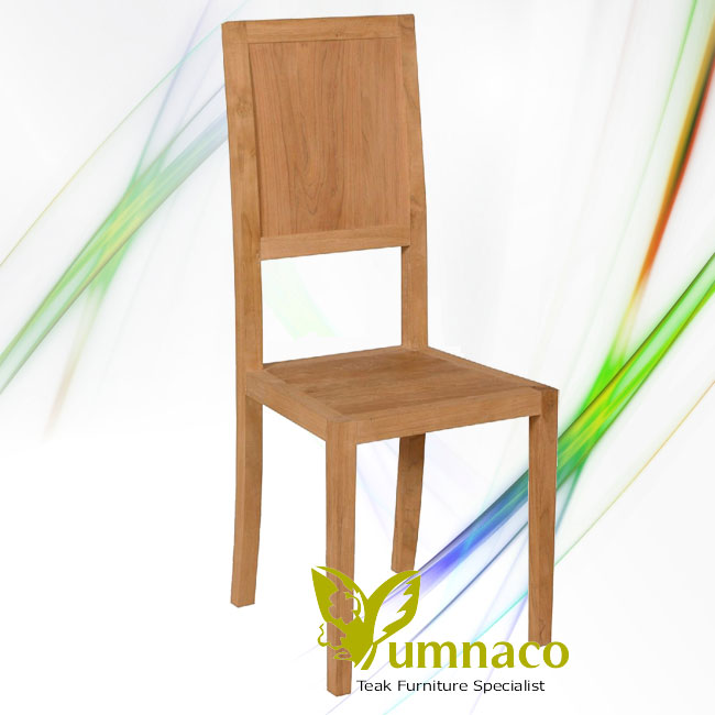 Indonesian Reclaimed Teak Furniture Wood Bistro Chair High