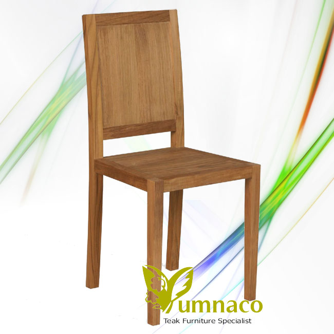 Indonesian Reclaimed Teak Furniture Wood Bistro Chair Stand