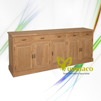 Gerard Sideboard 240 - Reclaimed Indonesian Teak Furniture