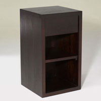 Britel Bedside 1 Drawer - Reclaimed Indonesian Teak Furniture