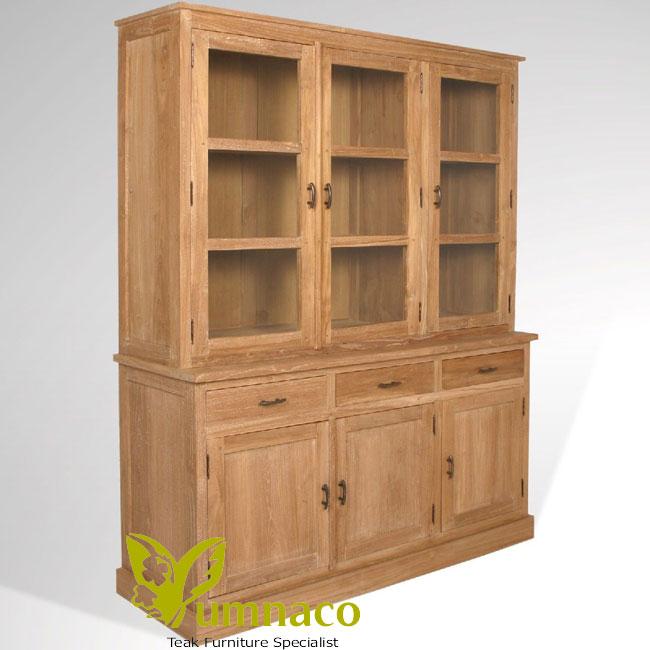Indonesian Reclaimed Teak Furniture Wyoming Bookcase 175