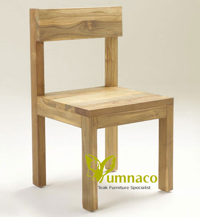 Indonesian Reclaimed Teak Furniture Wood Kitchen Chair