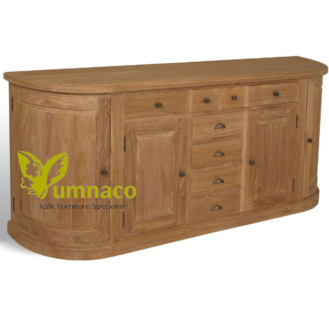 Indonesian Reclaimed Teak Furniture London Sideboard 200