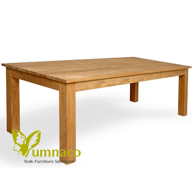 Indonesian Reclaimed Teak Furniture Prague Dining Table