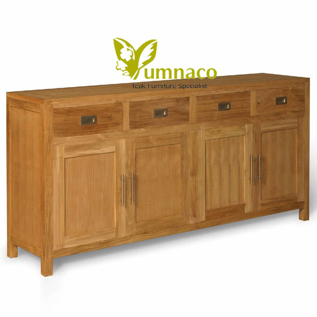 Teak Furniture Beds Yumna Ikea Sideboard 4 Drawers