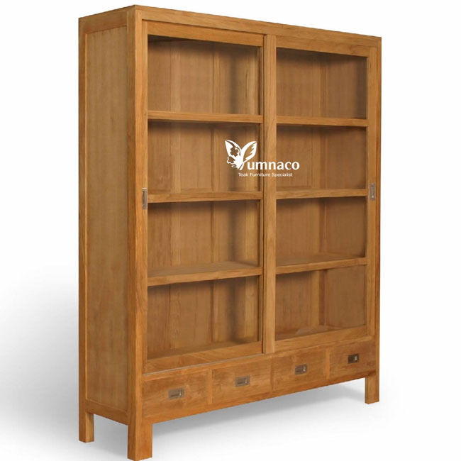 Teak Furniture Cabinet Yumna Chelsea display cabinet