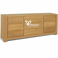 Albanian Wood Chest - Indonesian Indoor Teak Furniture