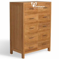 Carribean Chest - Indonesian Indoor Teak Furniture