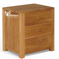 Yumna Solid Teak Chest 3 D - Indonesian Indoor Teak Furniture