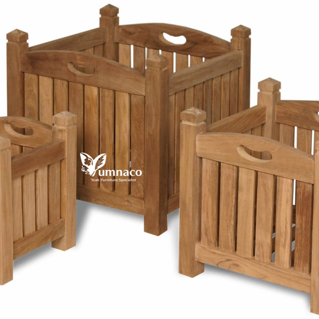Teak Garden Furniture Yumna Teak Planter