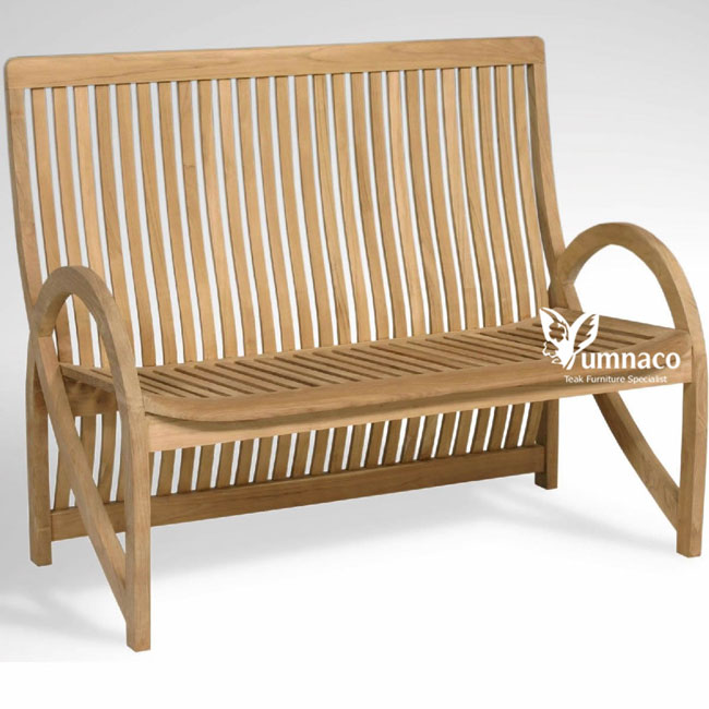 Zurich Bench - Indonesian Outdoor Garden Teak Furniture