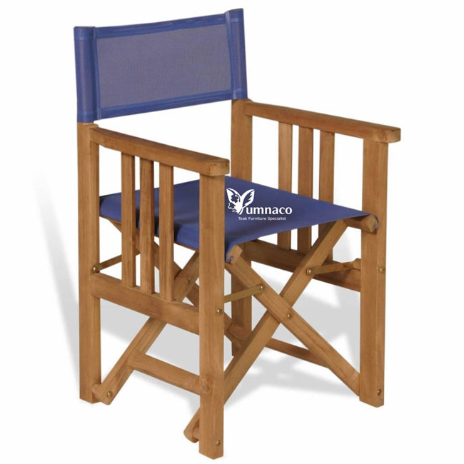 Teak Garden Furniture Yumna Director Chair