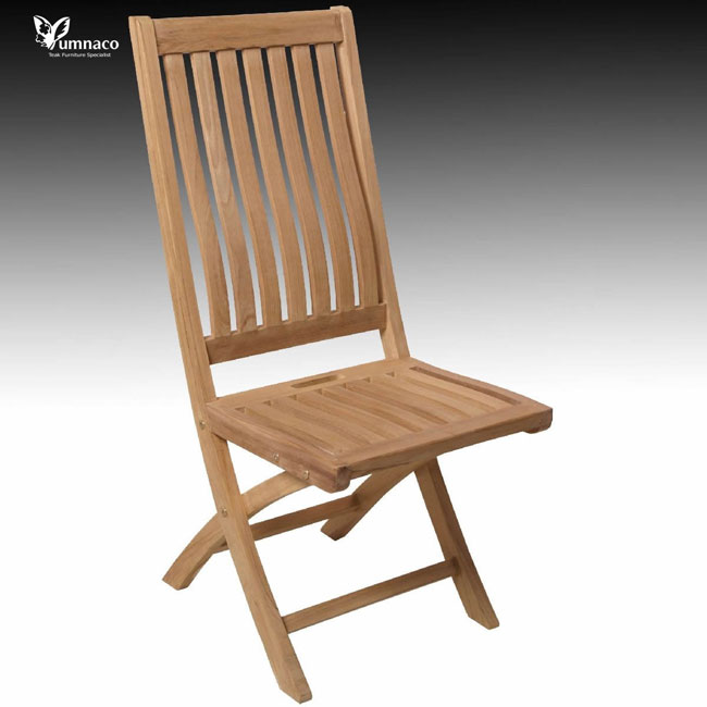 Teak Garden Furniture Yumna Trencin High Folding Chair