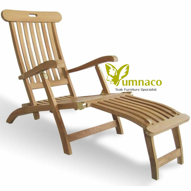 Teak Garden Furniture Yumna Steamer Deluxe