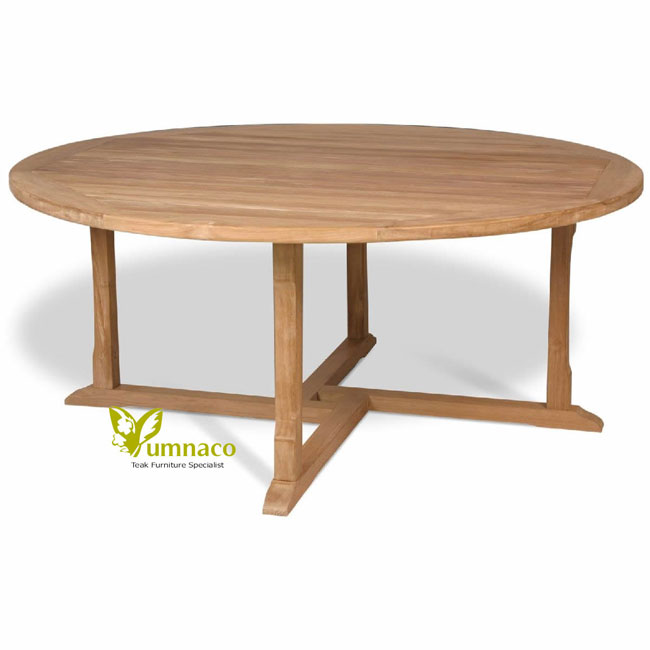 Teak Patio Furniture Yumna Round Table 120