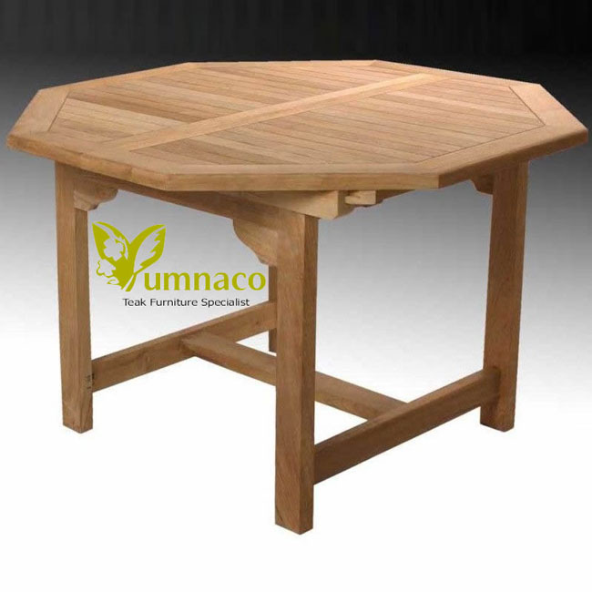 Teak Patio Furniture Yumna Octal Table Teak