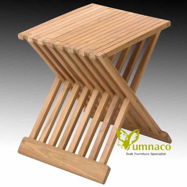 Teak Patio Furniture Yumna Piknik Side Table