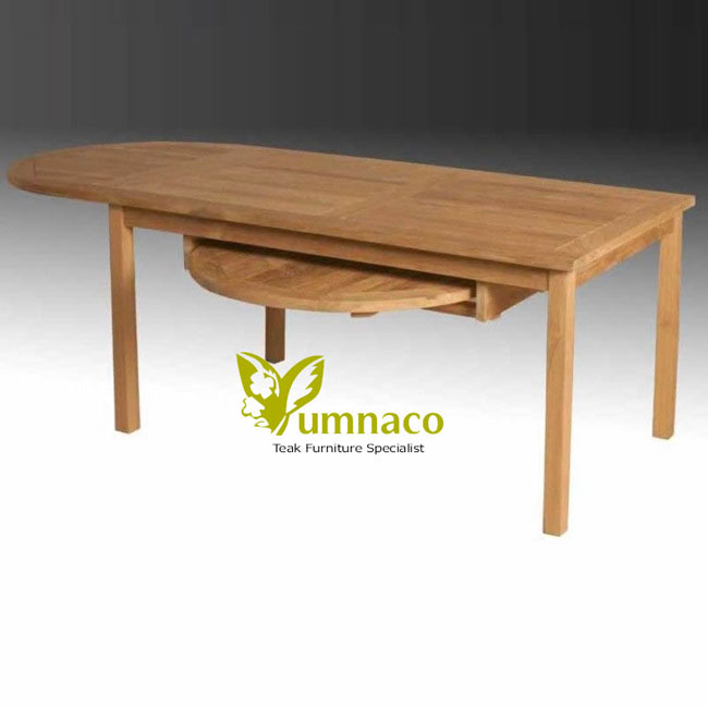 Teak Patio Furniture Yumna Wing Dining Table