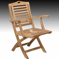Bratislava Armchair - Indonesian Outdoor Teak Furniture