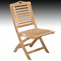 Bratislava Folding Chair - Indonesian Outdoor Teak Furniture