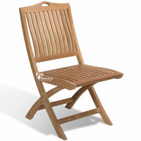 Bratislava Folding Chair 02 - Indonesian Outdoor Teak Furniture