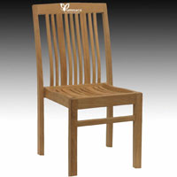 Yumna Gidra Stacking Chair -  Indonesian Outdoor Teak Garden Furniture