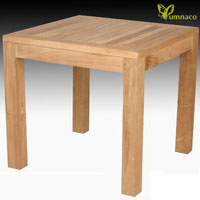 Yumna Bistro Teak Table 02 - Indonesian Teak Outdoor Furniture