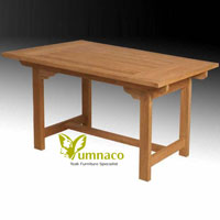 Yumna Classic Garden Table - Indonesian Outdoor Teak Furniture